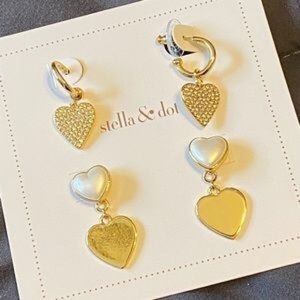 Stella & Dot *Hearts Beat as One* Convertible PE